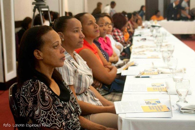 Consulta Especializada para mujeres con discapacidad. PIOMSI-CIMUDIS. En esta actividad participaron todos los estamentos del CIMUDIS con el propósito de exponer la necesidad de inclusión en el aspecto de la información, a través de las TICS y las debilidades que, en ese aspecto tienen las mujeres con discapacidad de República Dominicana.