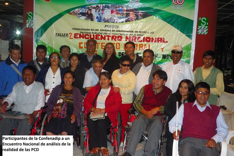 CONFENADIF, Peru