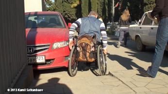 En un aparcamiento de Sochi, Rusia