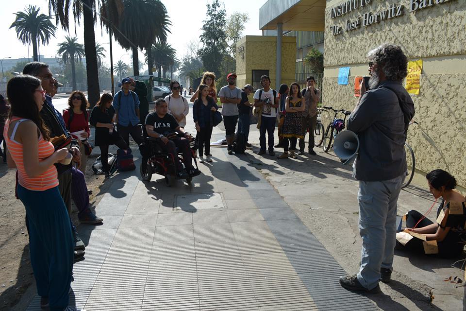 """Chile: Conmemoración """"Día internacional de protesta contra el tratamiento de Electroshock"""""""