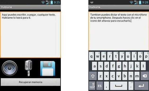España: Háblame, app Android gratuita que te lee tus textos y dictados