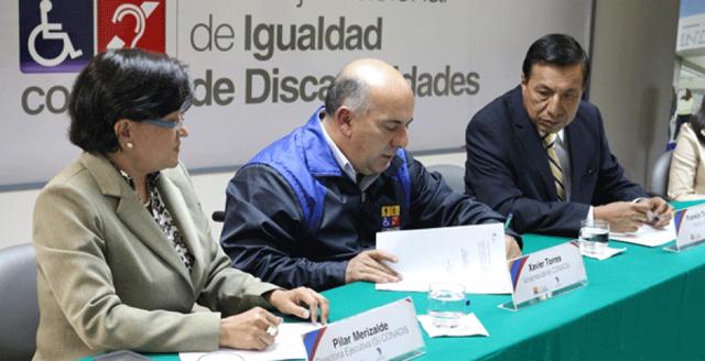 Ecuador: CONADIS firmó alianza estratégica