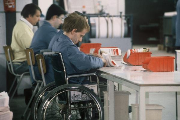 España: Los trabajadores con discapacidad ganan un 16.1% menos