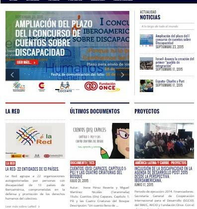 La nueva página web de La Red es un espacio donde las diferentes entidades de Iberoamérica pueden conocer sobre lo que sucede en la actualidad en tema de discapacidad.