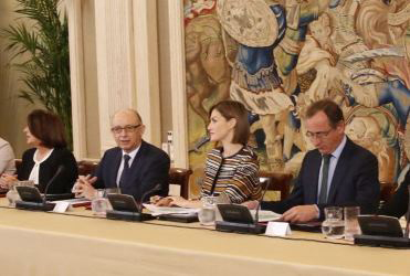 La Reina doña Letizia presidió el 5 de octubre en el Palacio de la Zarzuela una reunión del Consejo del Real Patronato sobre Discapacidad, donde participó COCEMFE.