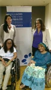 La Red participó del encuentro regional en Latinoamérica para discutir el avance de la Convención de los Derechos de las Personas con Discapacidad (CPCD).