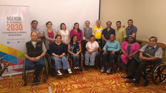 Los/as miembros/as de las diferentes entidades de La Red participaron en un jornada interesante, donde pudieron ubicar a la discapacidad dentro de los ODS de la Agenda 2030.