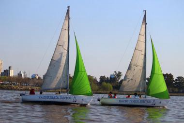 Para muchas personas con discapacidad esta es una experiencia única e inigualable, el navegar.